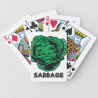 Sabbage Bicycle Playing Cards