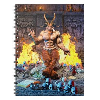 Sabbatic Goat Satanic Baphomet Notebooks