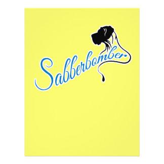 Sabberbomber Full Colour Flyer