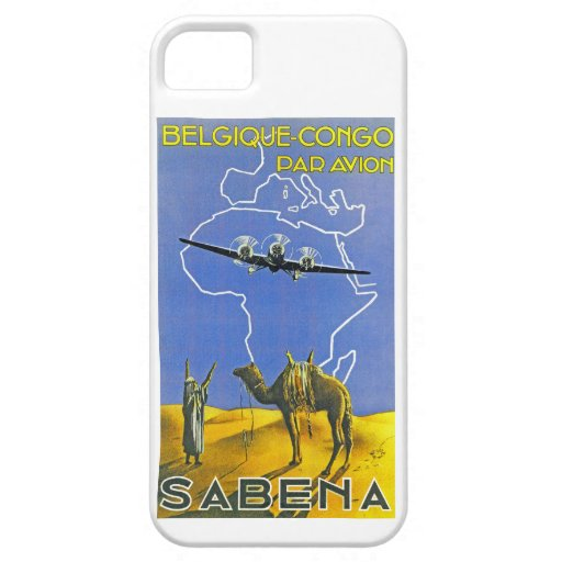 Sabena ~ Belgique Congo iPhone 5 Cover