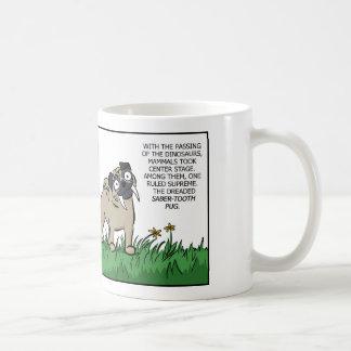 Saber Tooth Pug Mug