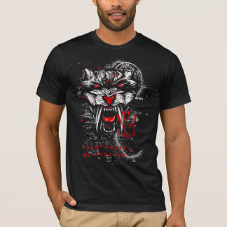saber tooth tiger tshirt