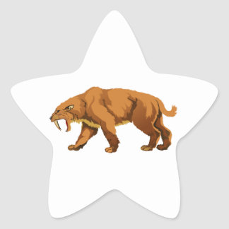 Saber-toothed Cat Stickers