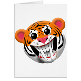 saber-toothed tiger card