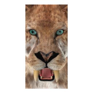 Saber Toothed Ttiger or Smilodon Card