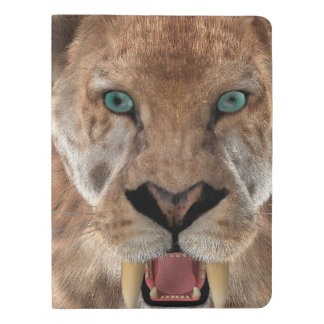 Saber Toothed Ttiger or Smilodon Extra Large Moleskine Notebook
