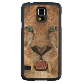 Saber Toothed Ttiger or Smilodon Maple Galaxy S5 Slim Case