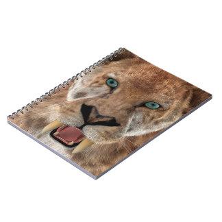 Saber Toothed Ttiger or Smilodon Notebook