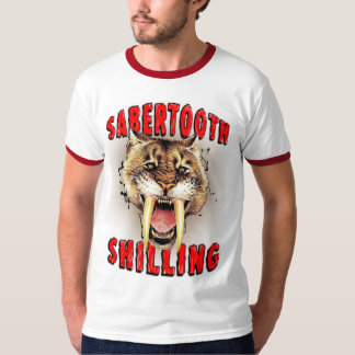 Sabertooth Shilling T-Shirt