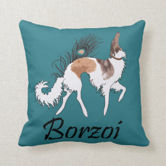 Sable Borzoi Pillow