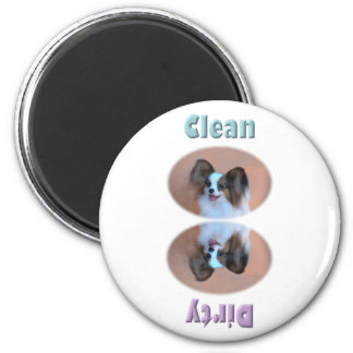 Sable Papillon Dishwasher Magnet