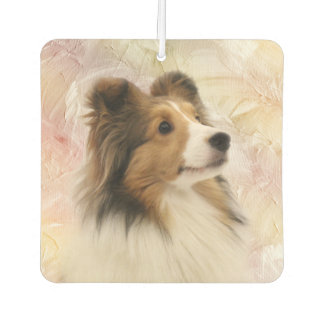 Sable Sheltie face Air Freshener