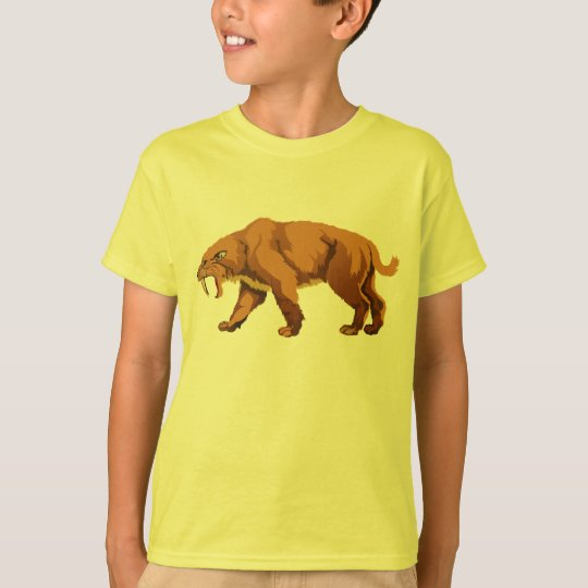 Sabre Tooth Cat T-Shirt