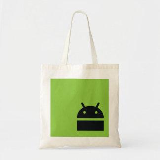 Sac à provisions androïde du marché - logo androïd