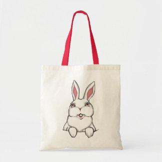 Sac à provisions d'art de lapin de Pâques de sac f