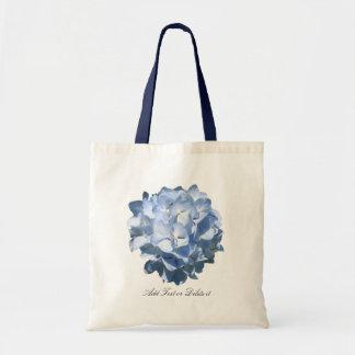 Sac bleu d'hortensia