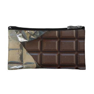 Sac cosmétique de barre de chocolat petit trousse de maquillage
