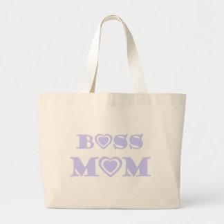 Sac de maman de patron avec des coeurs de lavande