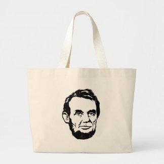 Sac fourre-tout à portrait d Abraham Lincoln