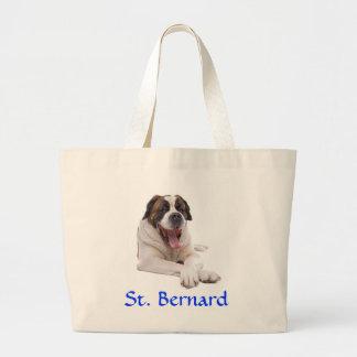 Sac fourre-tout enorme à toile de St Bernard