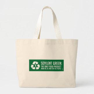 Sac fourre-tout vert à Soylent
