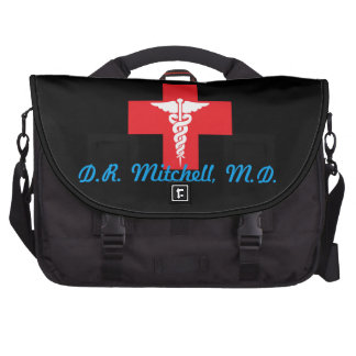 Sac médical personnalisé de banlieusard de sacoches ordinateurs portables