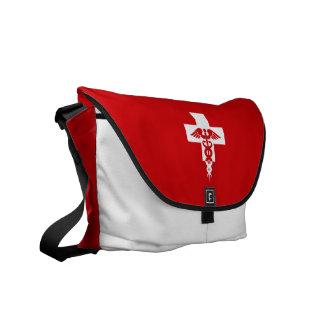 Sac messenger professionnel médical fait sur comma sacoches