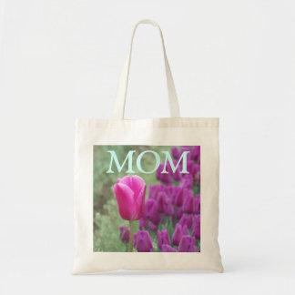 Sac pourpre de tulipes de MAMAN