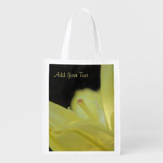 Sac Réutilisable Lis jaune par Shirley Taylor