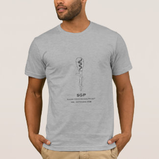 Saccoglossus Genome Project 2008 T-Shirt