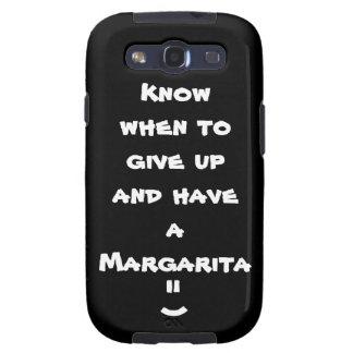 Sachez quand abandonner et avoir une margarita