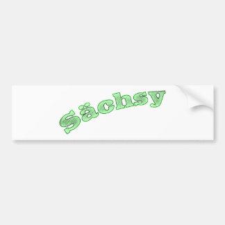 sächsy sexy Saxonia Bumper Sticker