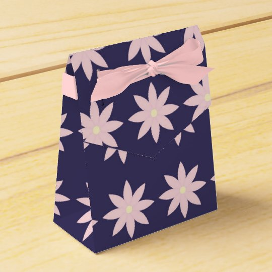 Sacolinha Flower Party Favor Boxes