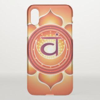 Sacral Chakra iPhone X Case
