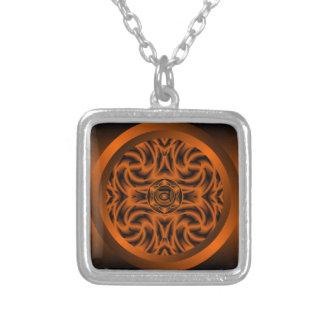 Sacral Chakra Mandala Necklace