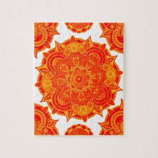 Sacral Chakra Mandala Puzzles