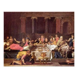 Sacrament Of Penance By Poussin Nicolas Personalized Announcement