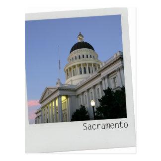 Sacramento California Capitol Building Postcard