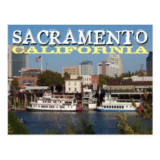 Sacramento California Postcard