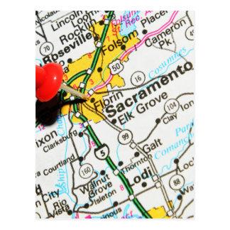 Sacramento, California Postcard