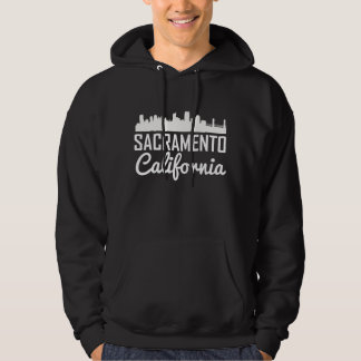 Sacramento California Skyline Hoodie