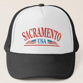 Sacramento California USA Trucker Hat