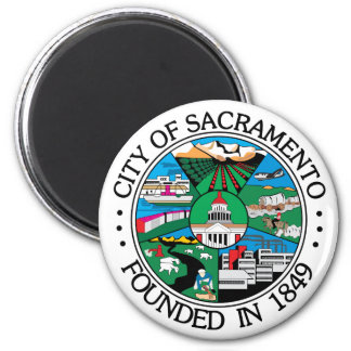 Sacramento city seal magnet
