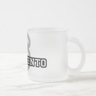 Sacramento Frosted Glass Coffee Mug