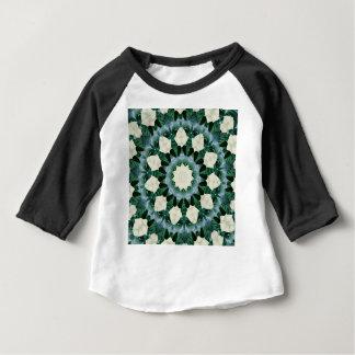 Sacramento Green and Cerulean Blue Mandala Baby T-Shirt