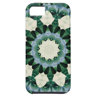 Sacramento Green and Cerulean Blue Mandala Case For The iPhone 5