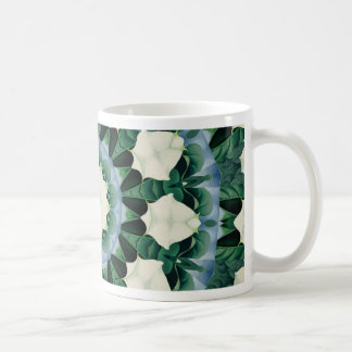 Sacramento Green and Cerulean Blue Mandala Coffee Mug
