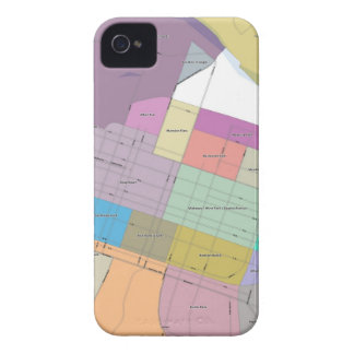 Sacramento Grid iPhone 4 Case