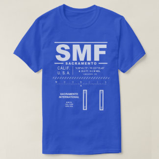 Sacramento International Airport SMF T-Shirt