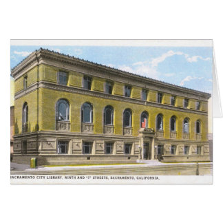 Sacramento Library Greeting Card (blank)